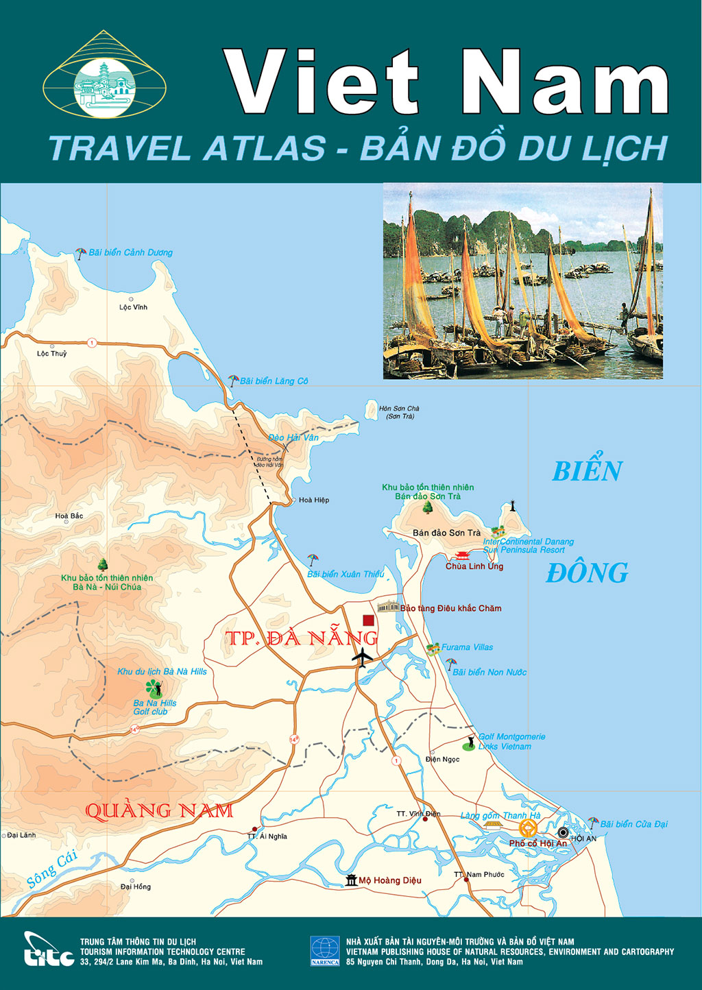 Viet Nam Travel Atlas - the 9th edition