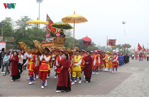 Worship of Hung Kings practiced by Muong ethnic minority people in Phu Tho
