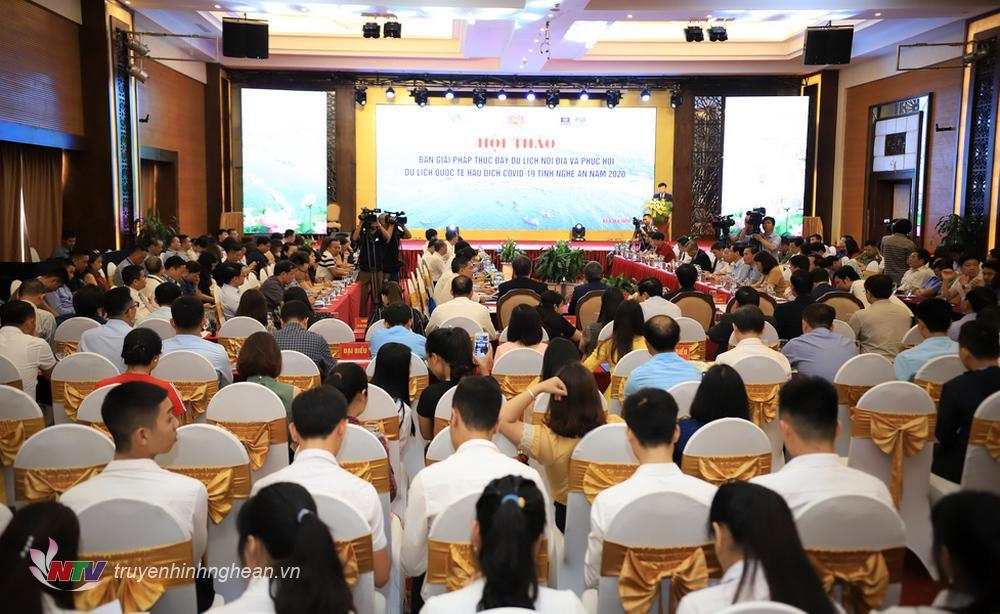 Nghệ An: Chung tay kết nối, kích cầu phát triển du lịch nội địa, phục hồi du lịch quốc tế hậu dịch Covid