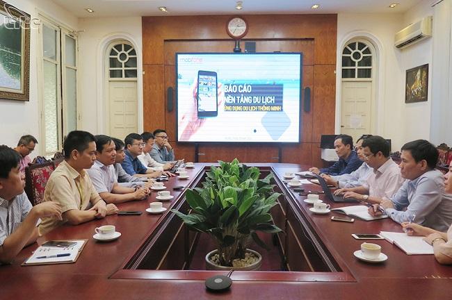 Phó Tổng cục trưởng Nguyễn Lê Phúc làm việc với Mobifone về ứng dụng nền tảng số trong du lịch