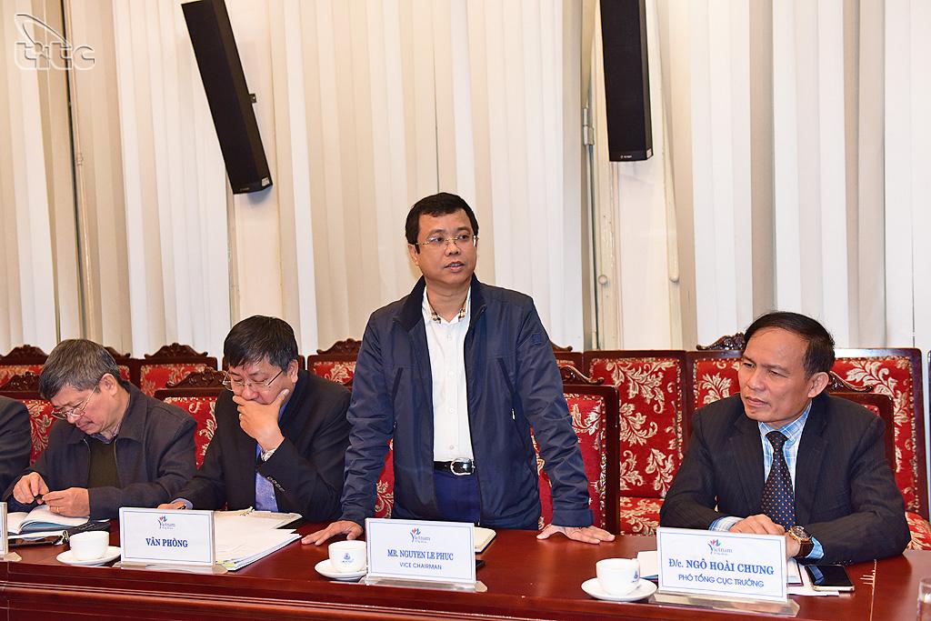 Đồng chí Nguyễn Lê Phúc được bổ nhiệm Phó Tổng cục trưởng Tổng cục Du lịch