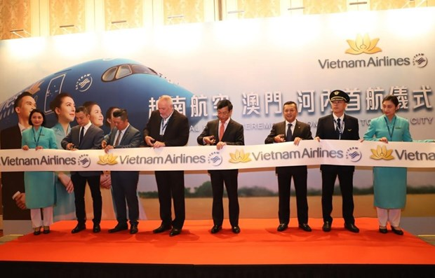 Vietnam Airlines launches Ha Noi – Macau service
