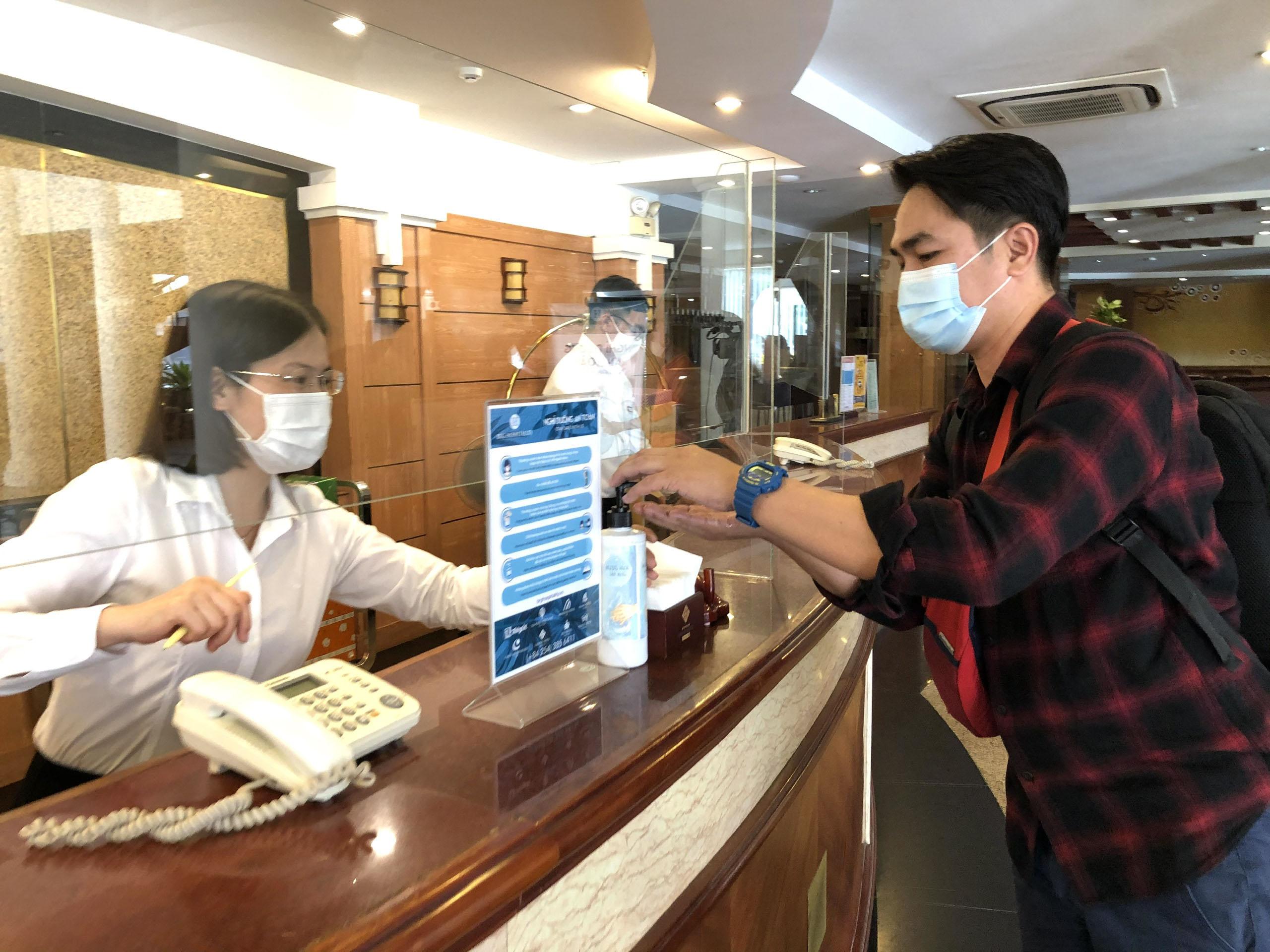 Bà Rịa - Vũng Tàu: Khách sạn kích hoạt phòng dịch