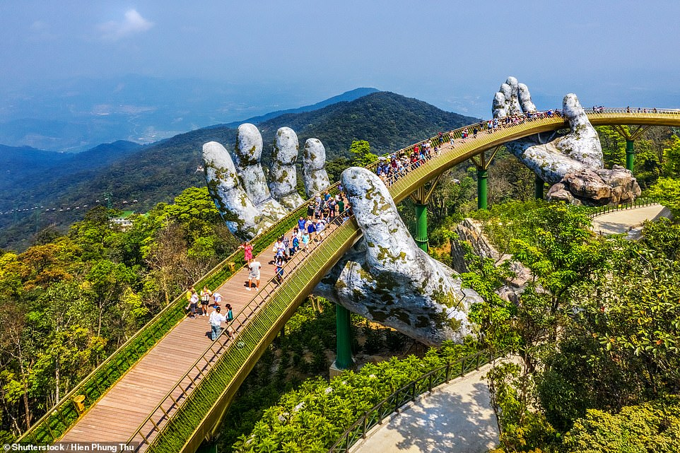 Golden Bridge in Đà Nẵng tops the list of fresh wonders of the world
