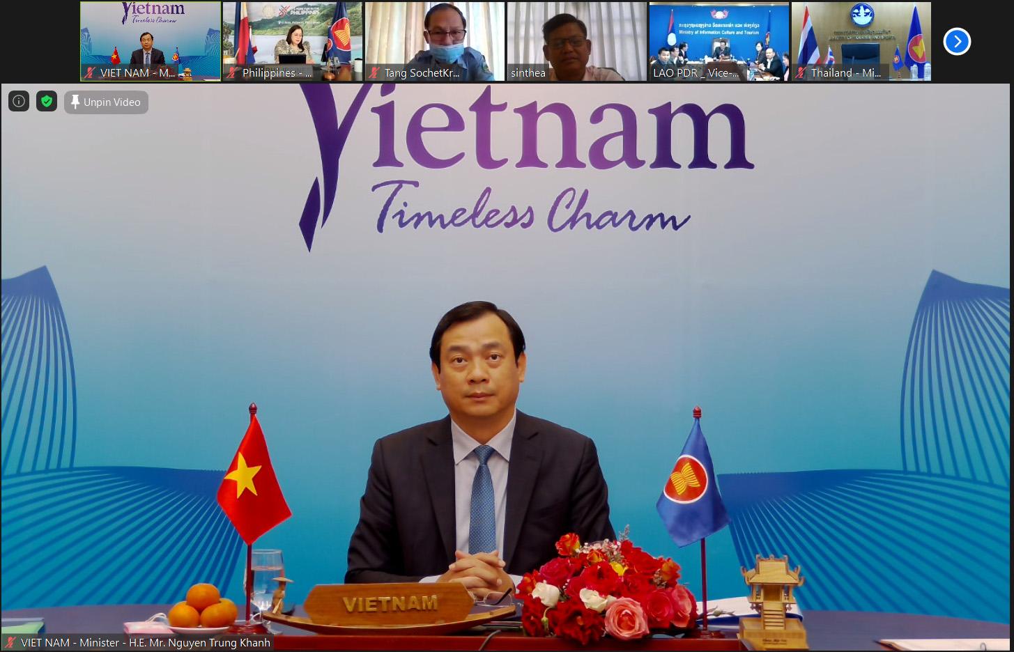 Tổng cục trưởng Nguyễn Trùng Khánh: Đẩy mạnh ứng dụng công nghệ số và sáng tạo để nâng cao năng lực cạnh tranh du lịch trong ASEAN
