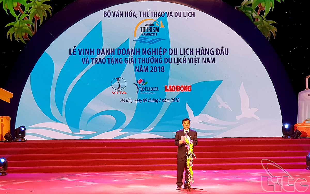 Viet Nam Tourism Awards 2018 (Photo: Huy Hoang)